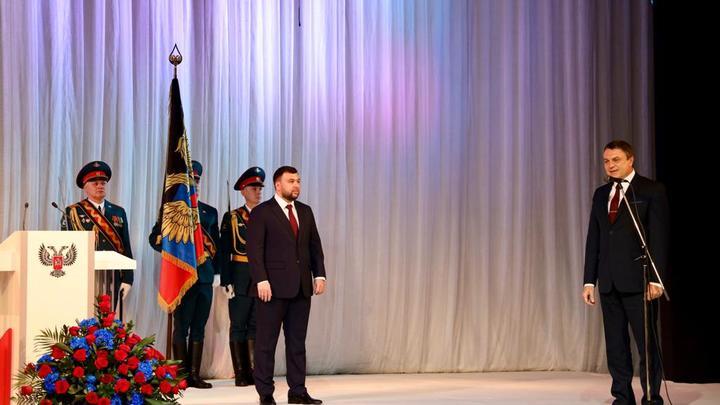 И выборы прошли, и инаугурация состоялась: Денис Пушилин вступил в должность – фоторепортаж