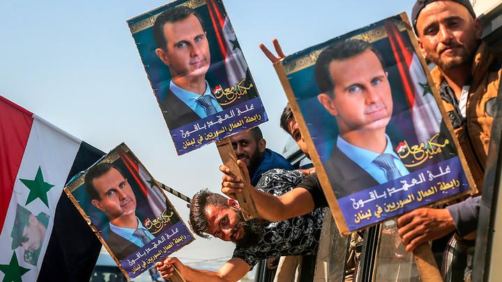 Асад победил на выборах президента Сирии