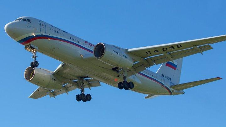 Последний пассажирский Ту-154 останется в новосибирском Толмачёво