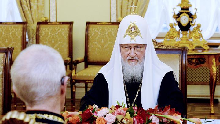 Христианская солидарность. Встреча Патриарха Московского и архиепископа Кентерберийского