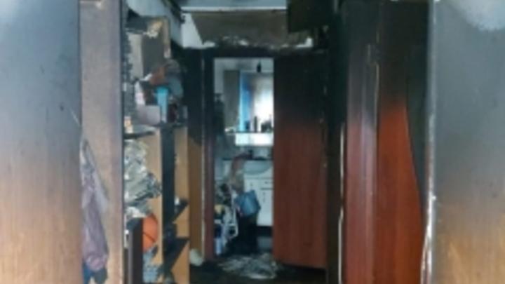 СК РФ начал проверку по факту гибели двух женщина на пожаре в Ленинском районе Самары