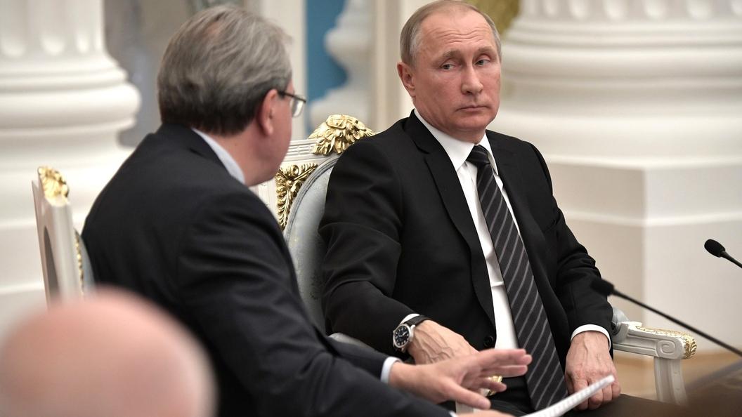 Путин поручил усовершенствовать систему налогообложения бизнеса в России