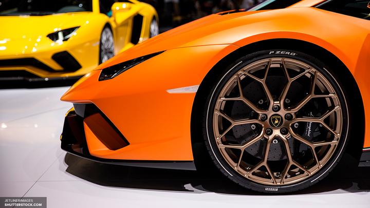 Стали известны технические характеристики кроссовера Lamborghini