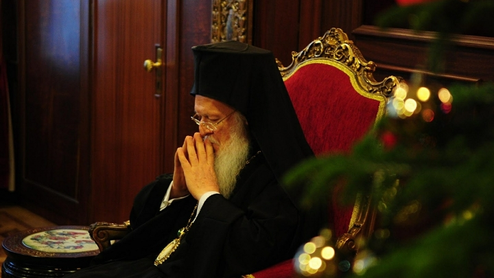 Патриарх Варфоломей объявил себя преемником русских царей