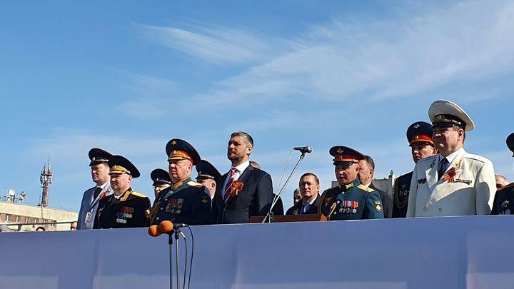 Александр Осипов поздравил забайкальцев с Днем Победы