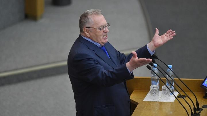 Жириновский: Америка ведет войну через носителей языка, которые хотят испортить нам выборы