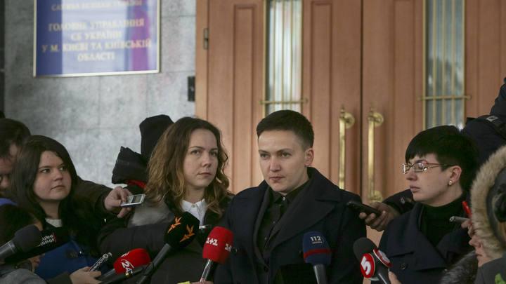 Савченко открыто призвала свергнуть Порошенко