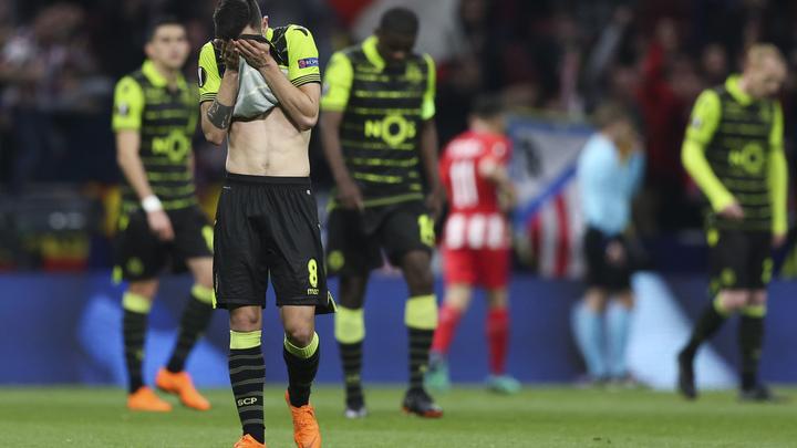 Спортинг запретил 19 футболистам посещать объекты клуба