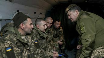 Боевики Правого сектора снова приехали реинтегрироваться к границе с ЛНР