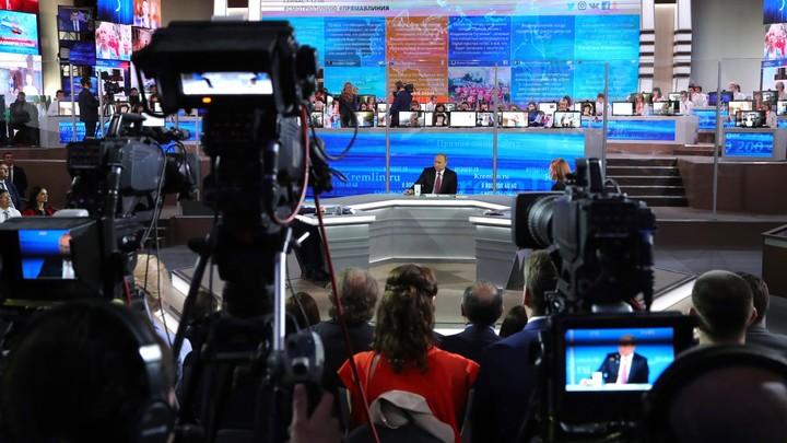 Путин закончил прямую линию утверждением все будет хорошо