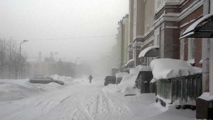 Климат лютует: В Воркуте - пурга и другие погодные аномалии России - фото