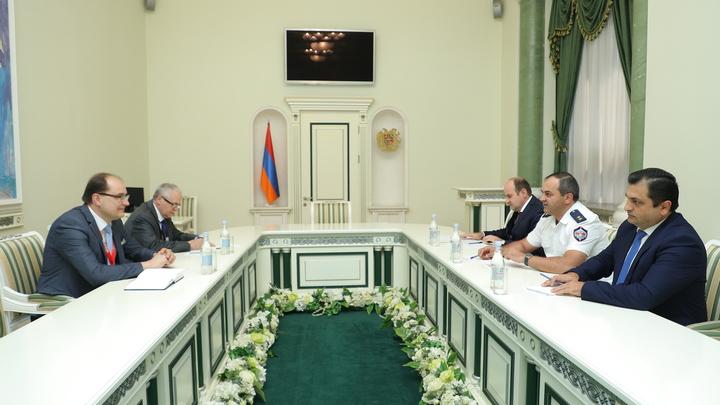 Гепрокурор Армении встретился с Руководителями миссии наблюдателей СНГ и ОБСЕ
