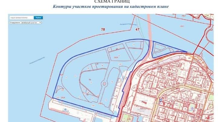 В Петербурге на Васильевском острове за пять лет хотят намыть еще 163 гектара для застройки