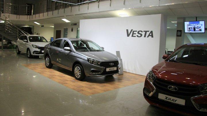 Lada Vesta из Ижевска приехала покорять Германию