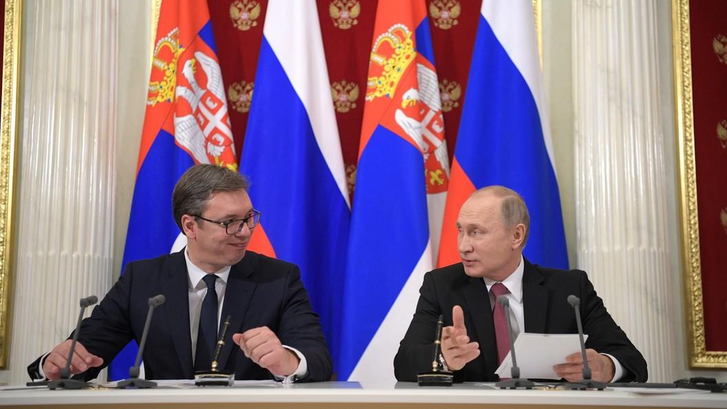 МИД Сербии опроверг стремление страны вступать вНАТО