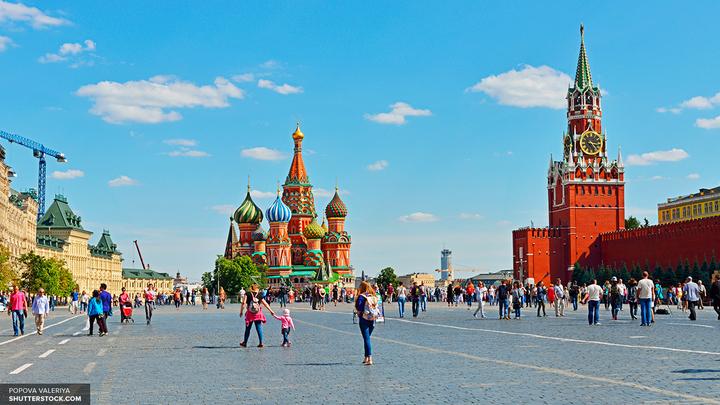 В Москве вход на Тверскую улицу возможен только по пропускам