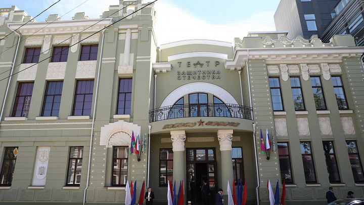 Театр Защитника Отечества, который восстанавливали лучшие реставраторы страны, открыли в Краснодаре