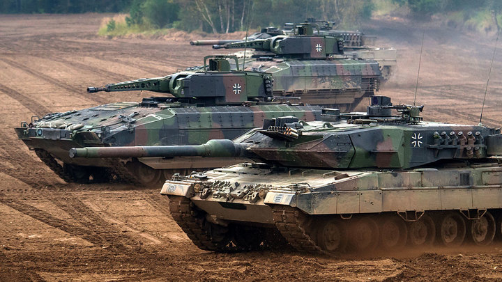 Немцы добавили «Леопарду» броню и решили, что теперь круче русских