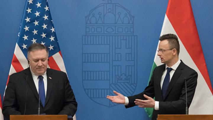 Первый, кто реально ответил на экспансию США: осадивший Помпео глава МИД Венгрии стал новым героем Сети