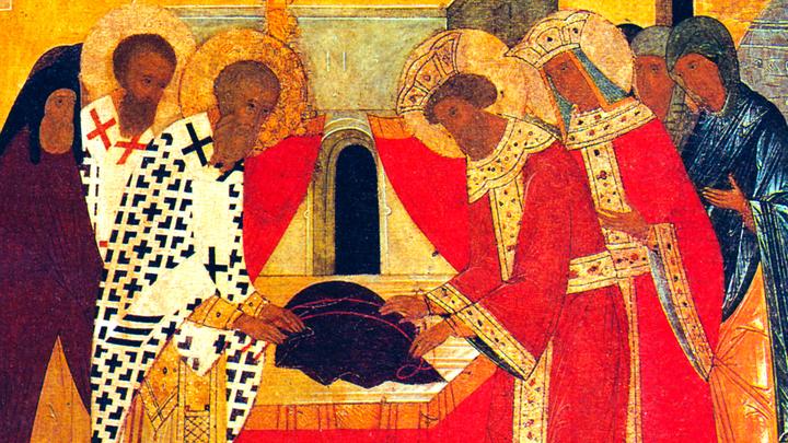 Положение честной ризы Пресвятой Богородицы во Влахерне. Православный календарь на 15 июля