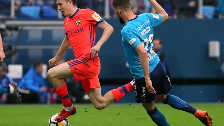 Хет-трик Чалова помог ЦСКА подняться на 5-ю строчку турнирной таблицы