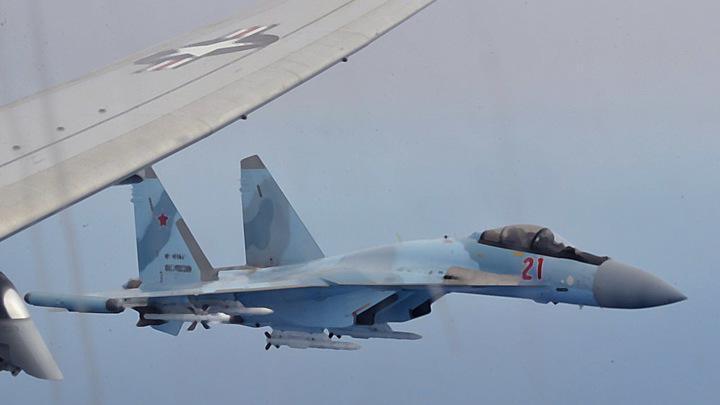 В среднем четыре шпиона за день: Российские ВКС отпугнули от границы 32 самолёта-разведчика