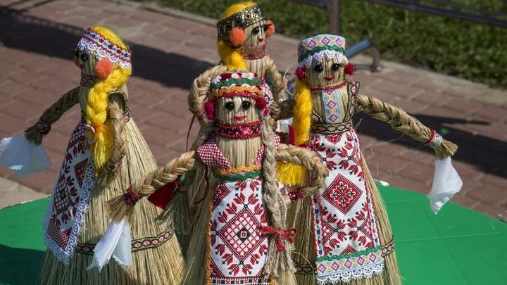 Новый рекорд Русского поля: На фестивале славянского искусства создадут самое большое этнограффити