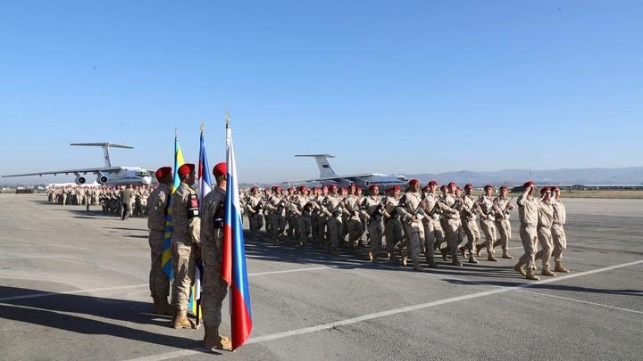 В Махачкалу вернулся батальон военной полиции, с мая выполнявший задачи в Сирии