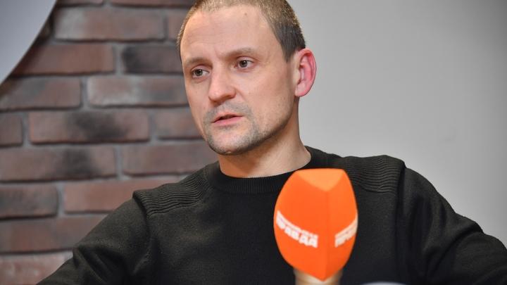 Удальцов проведет месяц под арестом за нарушение правил митинга в Москве