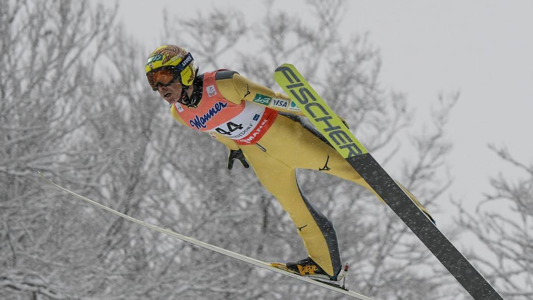 Японский летающий лыжник Касаи первым вистории выступил на 8-ми зимних Олимпиадах