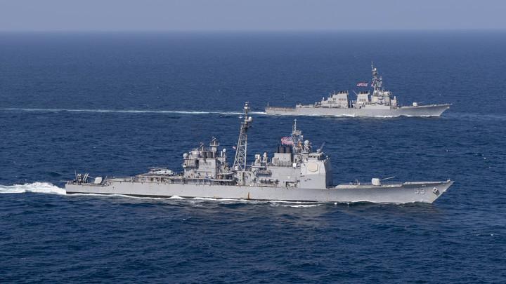 В 1988 году мы уже таранили американцев: Контр-адмирал предупредил США, что их корабли могут не выйти из Чёрного моря