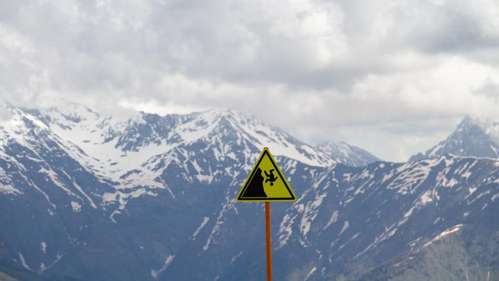 В горах Краснодарского края опасность схода лавин сохранится до 24 января