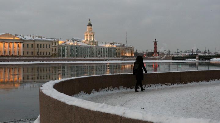 В Петербурге 24 февраля ожидаются обильные осадки и резкое потепление