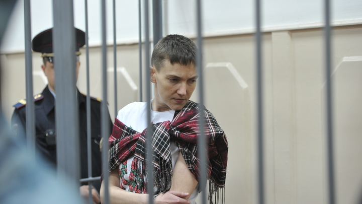 На 50-й день голодовки Савченко отказалась от защиты адвокатов