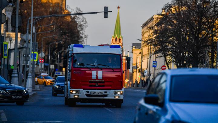 Стало известно о пострадавших в пожаре на складе пиротехники в Москве