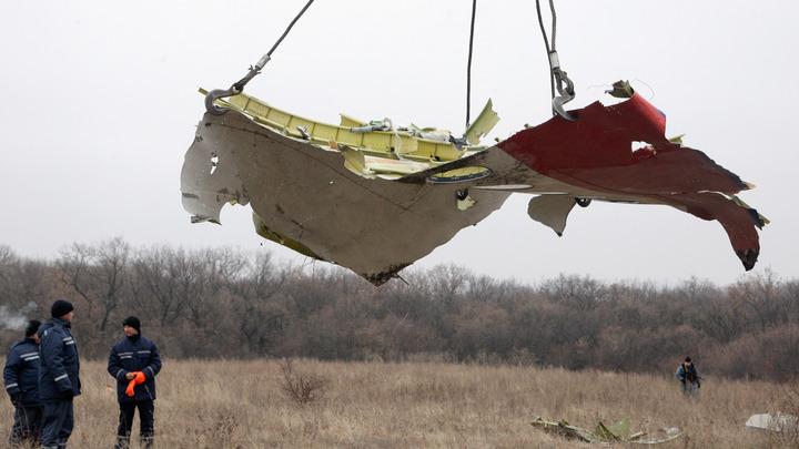 И при чём здесь... Бук??? Загадочные соты на обломках MH17 эксперт заснял на видео