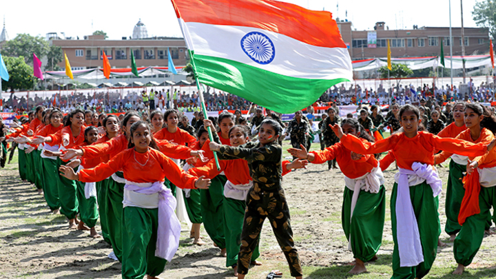«Кашмир наш». Как Индия отметила 72-ю годовщину независимости