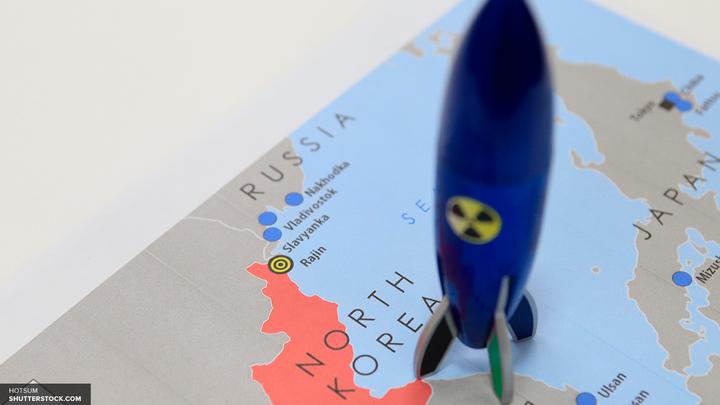 Ракета КНДР упала в 100 километрах от территории России - СМИ