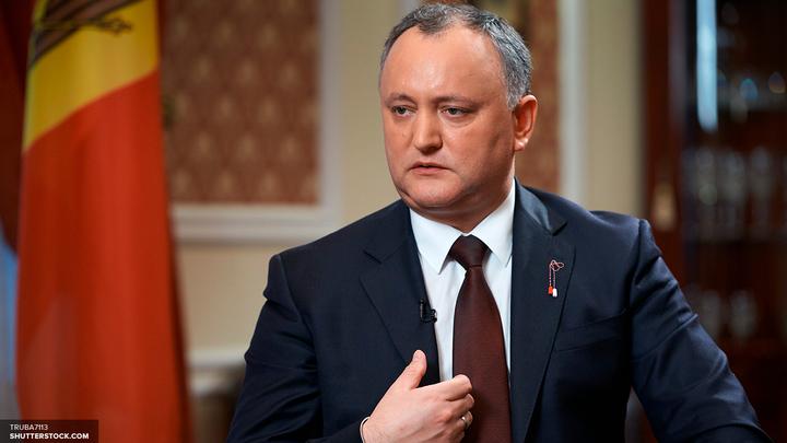 Додон поставил крест на независимости Приднестровья
