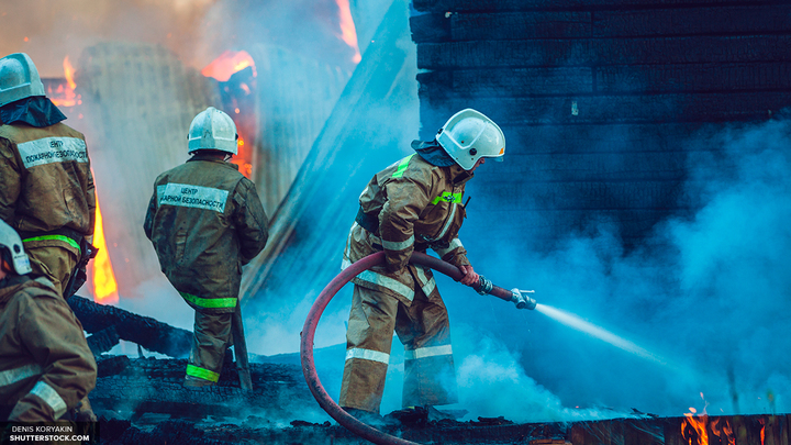 Пожар у площади Киевского вокзала в Москве ликвидирован
