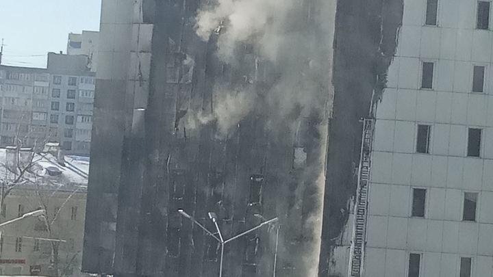 Сгоревший фасад ТОЦ Скала был смонтирован с нарушениями