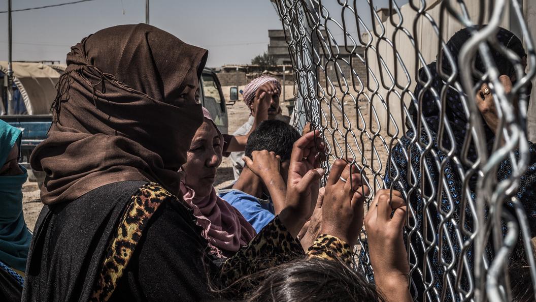 Вернувшиеся из Багдада черные вдовы попали под следствие в России