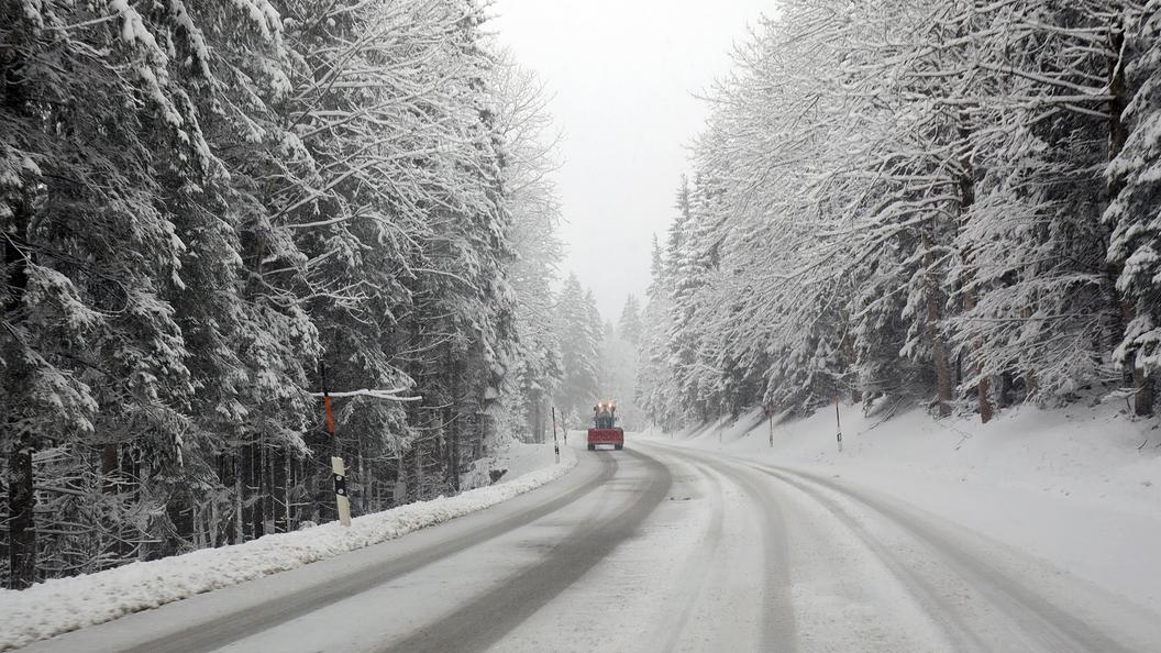 МЧС предупредило омокром снеге игололедице вМосковском регионе 20
