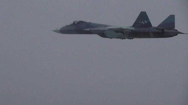 Это фантастика: Мировых экспертов восхитило, как Су-30 охраняет транспортник
