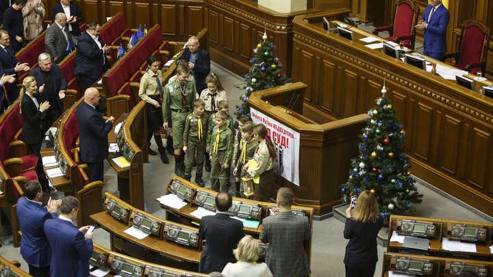 Депутаты Украины нарушили закон о военном положении ради новогодних каникул