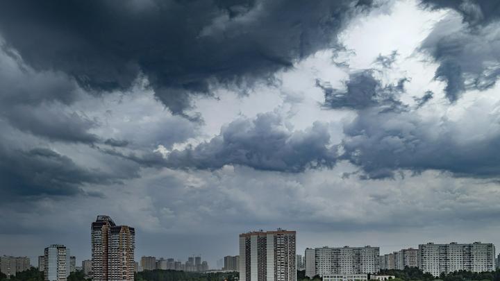 На Владимирскую область идет гроза с градом