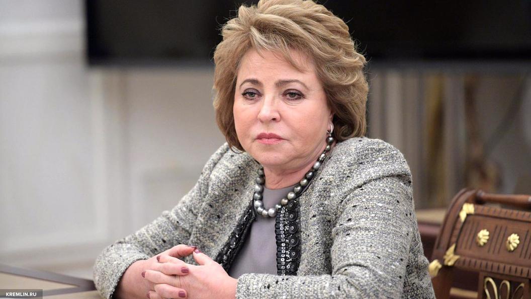 Матвиенко призвала США определиться с позицией по вопросу об антироссийских санкциях