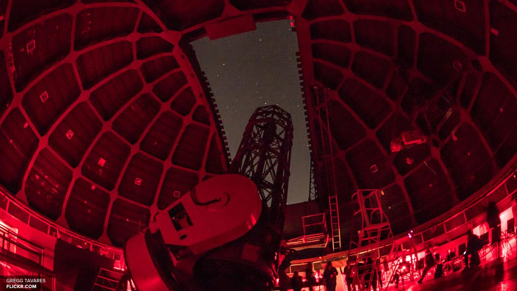Ученые показали видео мощного столкновения двух звезд в туманности Ориона