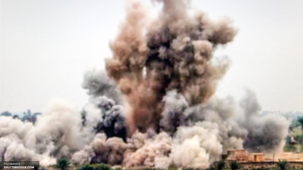В университете американской Москвы взорвалась ракета