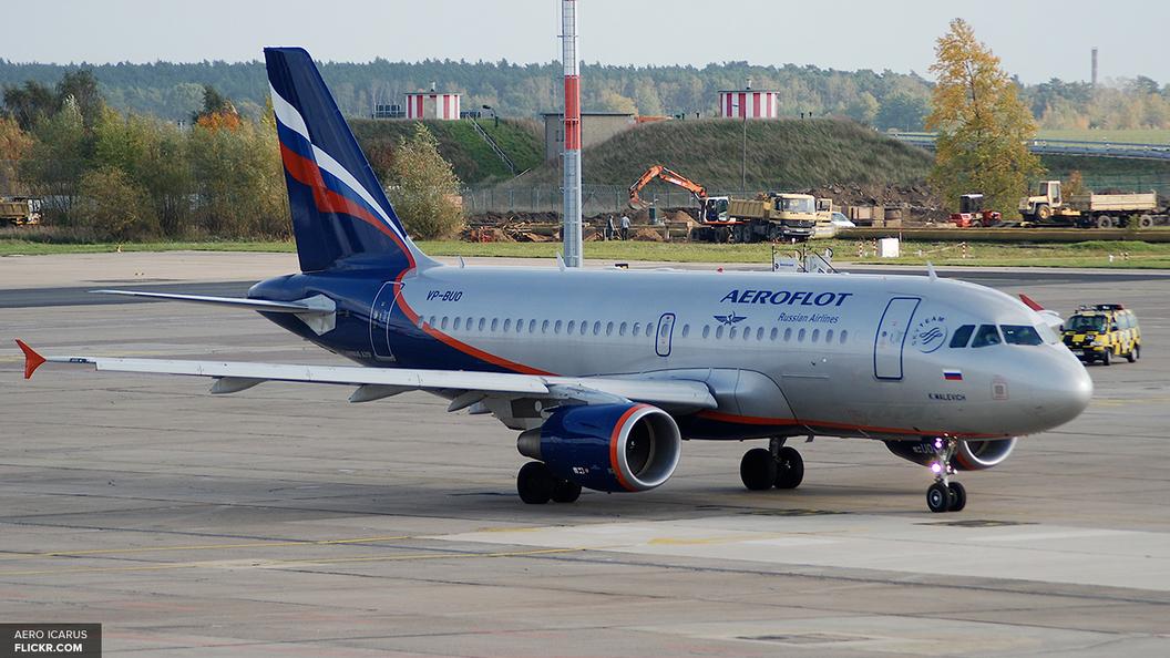 Сработавшая сигнализация сорвала вылет самолета с Мединским из Омска
